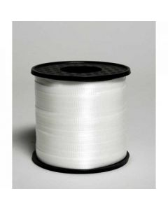 Curling Ribbon 460m White