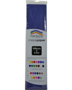 Crepe Paper - Dark Blue