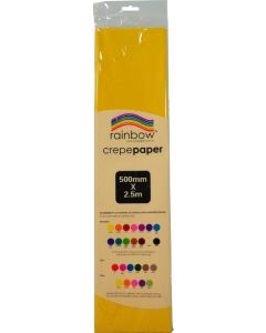 Crepe Paper - Yellow