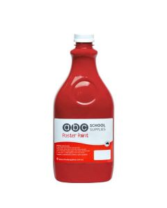 ABC  Poster Paint 2L Red
