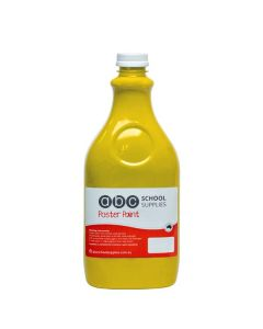 ABC  Poster Paint 2L Yellow