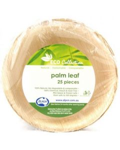 Palm Leaf Round Bowl Pack of 25