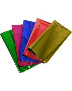 Metallic Cellophane Assorted Pack of 25
