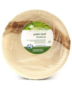 Palm Leaf Round Plate Pack of 25
