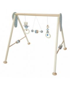 Baby Play Gym Natural Blue
