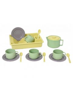 "Plasto ""I AM GREEN"" Coffee for 4 includes 15 pcs"