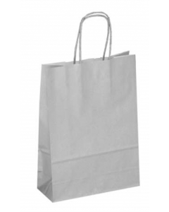 Bag Paper White with Twisted handle (Baby) 265x160+70mm pk50