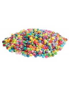 Beads Pony Assorted 250g