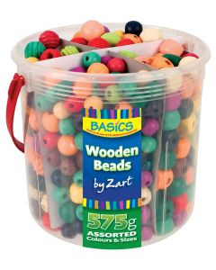 Beads Wooden Tub 575g