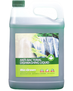 Bio-Green Antibacterial Dishwash Liquid 5Ltr