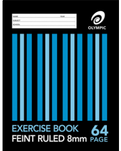 Book Exercise 9x7 64 pge