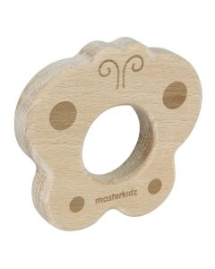 All Natural Wooden Teether Butterfly