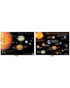 Wall Chart: The Solar System Double Sided
