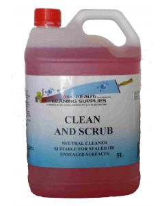 Clean n' Scrub Floor Cleaner 5L