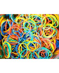 Rubber Bands Coloured #14 100gm