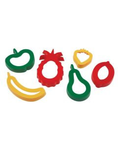Cookie Cutters Fruit Pk6