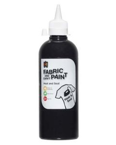 Fabric Paint 500ml Black