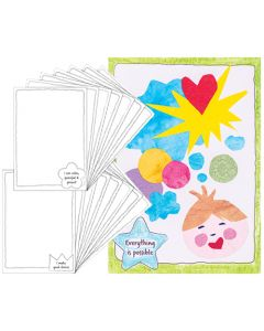ColourMe Affirmation Gift Cards Pack of 16