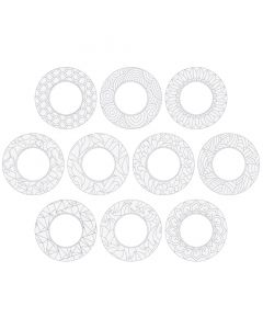 ColourMe Wreath Pack of 10