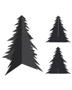Scratch Christmas Trees Pack of 20