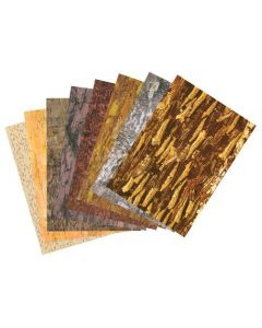 Bark Paper A3 Assorted Pack of 40
