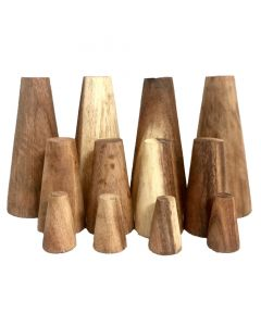Stacking Cones Natural 12piece Set