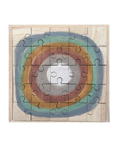 Earth Moon Puzzle 25pc