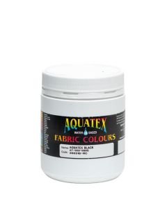 Aquatex Fabric Paint  Black