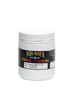 Aquatex Fabric Paint  Lemon Yellow