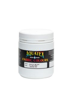 Aquatex Fabric Paint  Mid Red