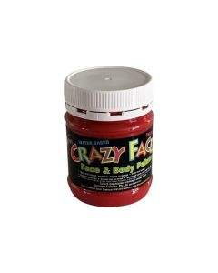 Crazy Faces Face Paint Red 250ml