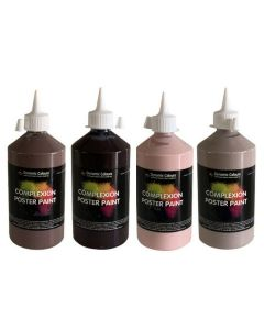 Complexion Paint 500ml Kits Set of 4