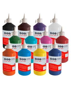 ABC  Poster Paint 500ml Set of 12