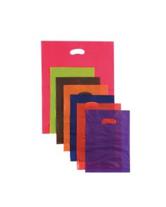 Bag Boutique Small LDPE Green 380x255mm Pk100