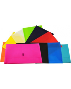 Document Wallet Plastic A4 with gusset Single