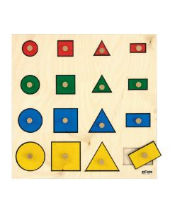 Geometric Shapes Board Puzzle
