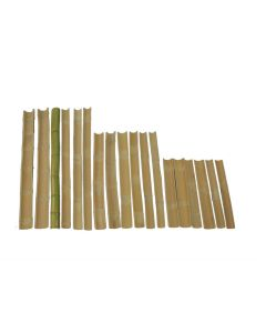 Bamboo Channel Set of 18