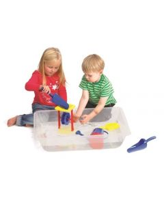 Sand & Water Play Tray Clear