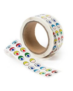 Eyes Paper Adhesive coloured Roll 2,000pcs