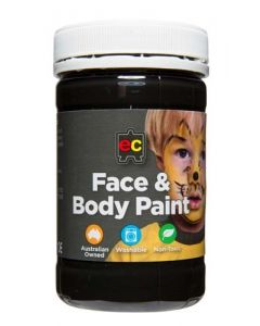 Face and Body Paints 175ml Black