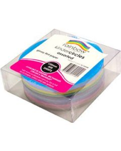 Glossy Paper Kinder Circles  120mm Pack of 500