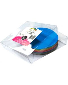 Glossy Paper Kinder Circles  180mm Pack of 500