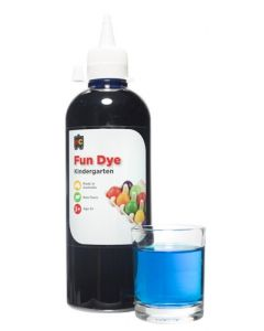 Dye Kindy Food 500ml Blue