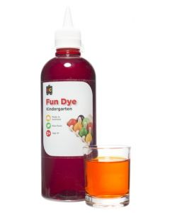 Dye Kindy Food 500ml Orange