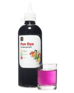 Dye Kindy Food 500ml Purple