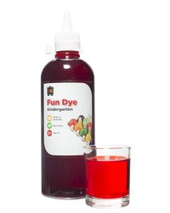 Dye Kindy Food 500ml Red