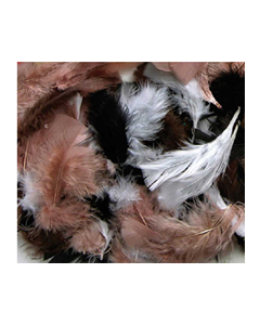 Feathers Natural Assorted 60g