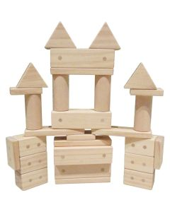 Magnetic Wooden Blocks 30pc Set