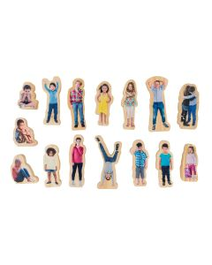 How Am I Feeling Today – Wooden people 15pc Set