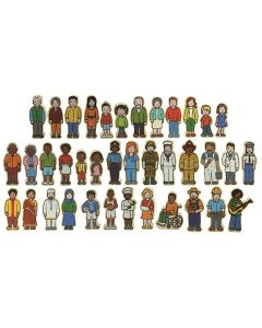The Wooden Village People 42pc Set